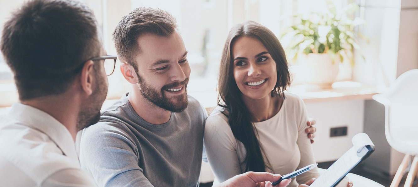 couple checking financial health